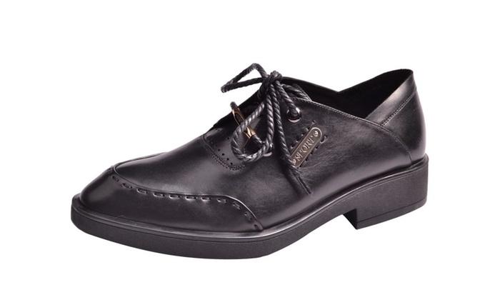 Men's Solid Solid Slip-ON Dress Shoes