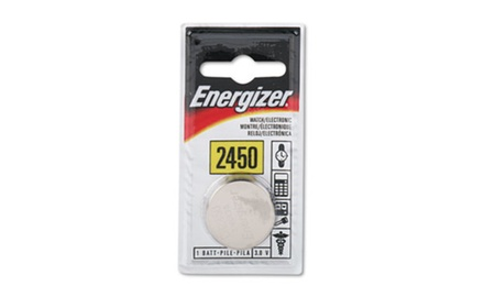 Energizer Watch/Electronic/Specialty Battery, 2450 (EVEECR2450BP)