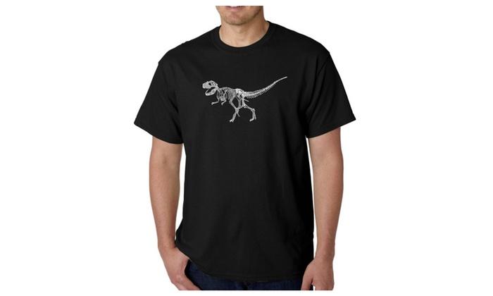 Men's T-shirt - Dinosaur T-Rex Skeleton
