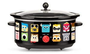 Disney 7-Quart Oval Slow Cooker with Pixar Characters