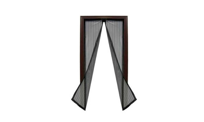 Home Auto Open And Close Magnetic Fly Screen Door
