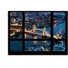Philippe Hugonnard Window View London Bridge 2 Canvas Print 35 x 47