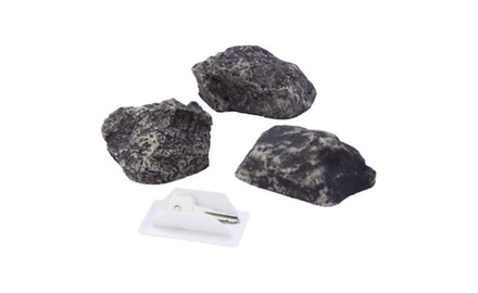 Super Secret Hidden Key Rock Safe - 2 Pack