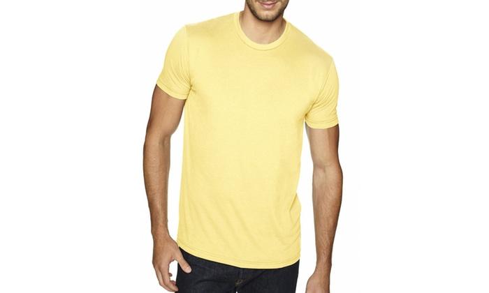 NLA Premium Fitted Sueded Crewneck T-Shirt, 6410