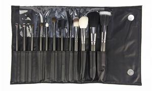 Professional Makeup Brush Set (12-Piece)