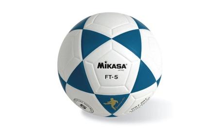 Mikasa FT5 Soccer Ball Size 5 Blue/White 929fe918-99e4-48bc-aba1-f29adab16c6a