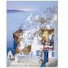 Hava 'Greece' Canvas Rolled Art