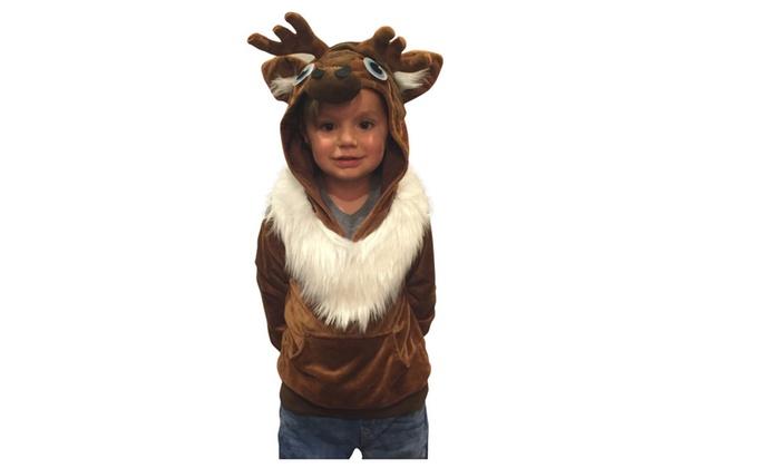 halloween costumes kids sven reindeer costume hoodie frozen costume