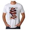 M.C. Escher Face Rind Men's White T-shirt NEW Sizes S-2XL