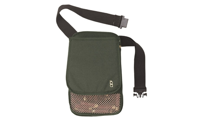 Bob Allen 429T Superior Shell Nylon Pouch with Belt - Green
