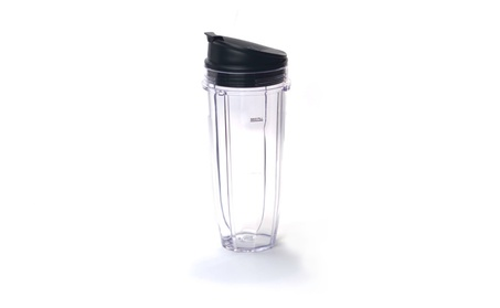 Ninja Blender 24 Oz Ounce Medium Cup with Sip N Seal Lid NutriNinja de8a74d3-99ac-42d6-b733-086776233c9c