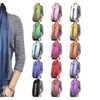 "72"" Shiny Solid Color Scarf"