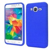 Insten Rugged Gel Rubber Case For Samsung Galaxy Grand Prime Blue