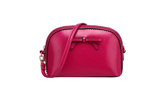 DPN Women's Shopping Leather Top Handle Bags