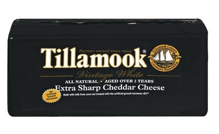 Tillamook Vintage Extra Sharp White Cheddar