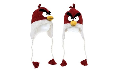 Angry Cardinal Red Bird Hat