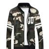 Men's Fashion Collar Camouflage Lightweight Jacket Coat