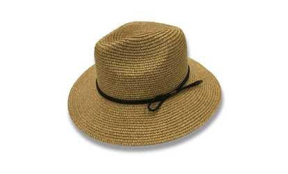 4cb71d0e22e Shop Groupon AccessHeadwear Sun Styles Dolores Ladies Fedora Style Hat for  Beach Hiking