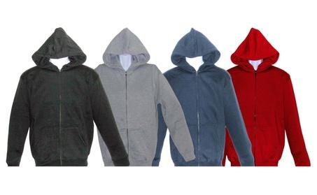 SPECIEN Youth Heavy Weigh Hooded Full Zipper Fleece Sweatshirt Jacket c5dd5b28-4aae-43b9-9f91-34de3fc66e65