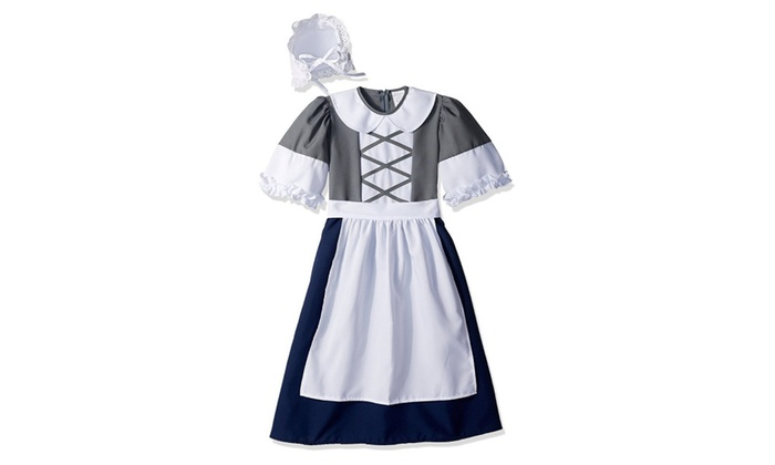 RG Costumes 91230- L Large Child Colonial Peasant Girl Costume  sc 1 st  Groupon & RG Costumes 91230- L Large Child Colonial Peasant Girl Costume | Groupon