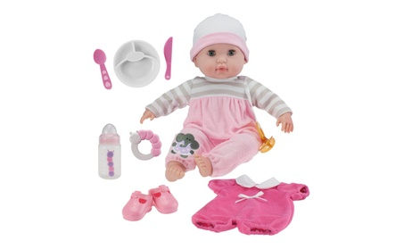 "JC Toys Berenguer Boutique 15"" Soft Body Baby Doll, Open/Close Eyes 58ac26df-72c4-4fc3-9569-87999b8828b3"