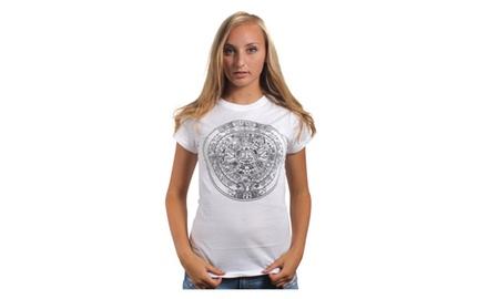 Aztec Calendar T Shirt