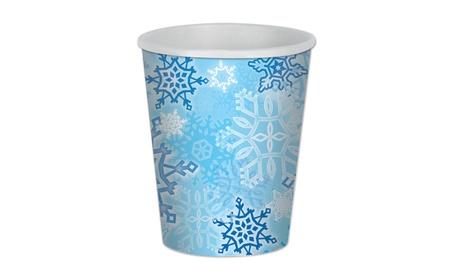 Beistle Snowflake Beverage Cups 9 Oz - 12 Pack (8/Pkg) b6b4ffce-770b-49e0-a9f6-33978bba513d