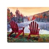 David Lloyd Glover Vermont Romance Canvas Print