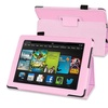 Insten Pink Stand Leather Case For Kindle Fire HD 7 2nd Gen 2013