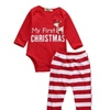 Children'S Clothing Christmas Red And White Section Of The Deer Head