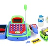 Velocity Toys My First Cash Register Pretend Play Battery Operated Toy Register