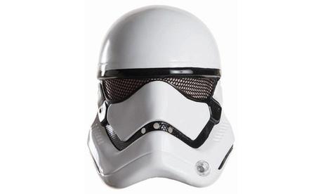 Star Wars Episode VII - Mens Stormtrooper Half Helmet fd3697aa-48e0-49c5-89d6-1b1226a5da9e