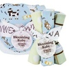 Trend Lab Baby Barnyard Hooded Towel & Wash Cloth Bouquet Set