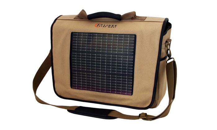 The Fusion Canvas Solar Messenger Bag