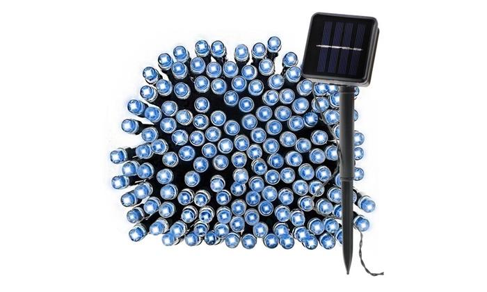 100 LED Solar String Fairy Light