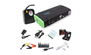 Indigi: Indigi Car Jump Starter Power Bank Battery Charger Tire Air Compressor