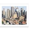 Ariane Moshayedi 'City VI' Canvas Rolled Art