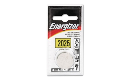 Energizer Watch/Electronic/Specialty Battery, 2025 (EVEECR2025BP)