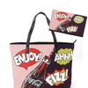 Coca-Cola Pop Art Comic Oversized Tote Bag and Wallet Set