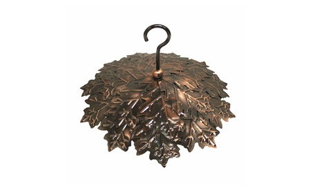 Heath HEATHRG2 10 in. Copper Leaf Rain Guard (Goods Outdoor Décor Bird Feeders & Baths) photo
