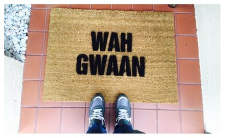 Jamaican Doormat