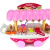 Velocity Toys Ice Cream & Sweets Cart Pretend Play Toy Food Playset