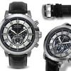 Balmer Chronograph Atalante Mens Watch Black/Silver/Black