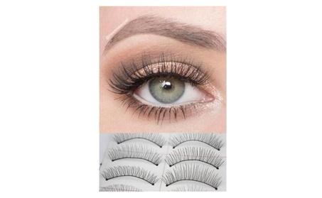 10 Pairs Natural Handmade EyeLashes Extension 20ab2126-3058-401f-b08f-1658ab3e68e3