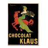 Leonetto Cappiello Chocolat Klaus Canvas Print 18 x 24