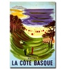 La Cote Basque Canvas Print 24 x 32
