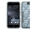 Insten Camouflage Layer Coated Silicone Case For HTC One A9 Gray WH