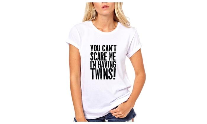I'm Having Twins Funny T-Shirt