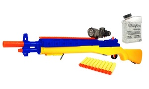 YK Hero M14 Sniper Spring Powered Toy Foam Dart & Gel Gun