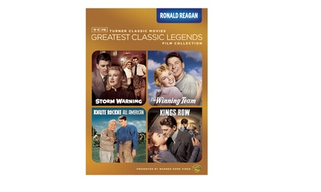 TCM Greatest Classic Films: Legends - Ronald Reagan (4FE) f3cb0c94-c986-4ee8-8dab-d1e97c47e547